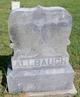 "John Thomas ""Jack"" Allbaugh"