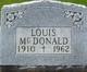Louis McDonald