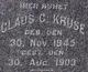 Claus C Kruse