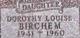 Dorothy Louise Birchem