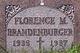 Florence Mary Brandenburger
