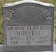 Milbrey Elizabeth Norvell