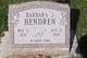 Barbara Jean <I>Holmes</I> Hendren