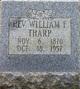 Rev William Fisher Allen Tharp