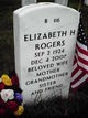 Elizabeth H Rogers