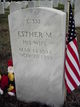Esther M Brown