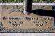 Thurman David Tharp