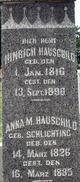 Anna M <I>Schlichting</I> Hauschild