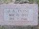 Joseph Allie Payne