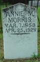 "Annie Mildred ""Sissie"" <I>Griffin</I> Morris"