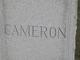 Palmer Albert Cameron