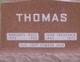 Marjorie <I>Moss</I> Thomas