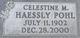 Celestine Marie <I>Haessly</I> Pohl