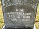 "Profile photo:  Alfred M. ""Benny"" Aughenbaugh"