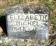 Profile photo:  Elizabeth Hickel