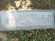 Byrtie A <I>Miller</I> Adams