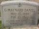 George Maynard Daniel