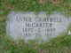 Profile photo:  Annie <I>Campbell</I> McCarter