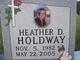Heather D Holdway