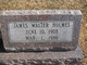 James Walter Holmes