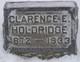 Clarence Eleazer Holdridge