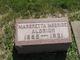Profile photo:  Margretta <I>McBride</I> Aldrich