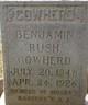 Corp Benjamin Rush Cowherd