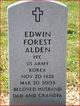 Profile photo:  Edwin Forest Alden