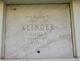 Martha Gertrude <I>Gonder</I> Klinger