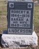 Sarah A. <I>Devine</I> Anderson