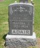 Profile photo:  Martha J. Adair