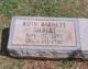 Ruth Cleveland <I>Barnett</I> Gilbert