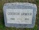 Profile photo:  Gertrude Armour