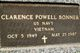 Clarence Powell Bonner