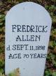 Profile photo:  Fredrick Allen
