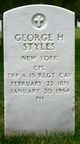 Profile photo:  George Henry Styles