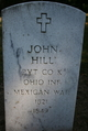 Pvt John Hill