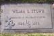 Wilma Lorene <I>Willman</I> Stowe