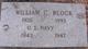 William C. <I> </I> Block, Sr