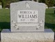 Rebecca Jane <I>Emmons</I> Williams