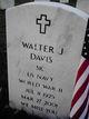 Walter J Davis