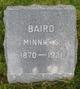 Minnie Belle <I>Soloman</I> Baird