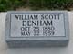William Scott Denham