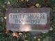 Thurman Foster Shouse