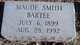 Maude <I>Smith</I> Bartee