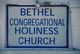 Bethel Congregational Holiness Church Cemetery