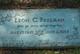 Leon Carl Freeman