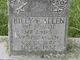 Profile photo:  Billy Eugene Allen