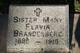 Sr Mary Flavia Brandenberg