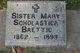 Sr Mary Scholastica Baettio
